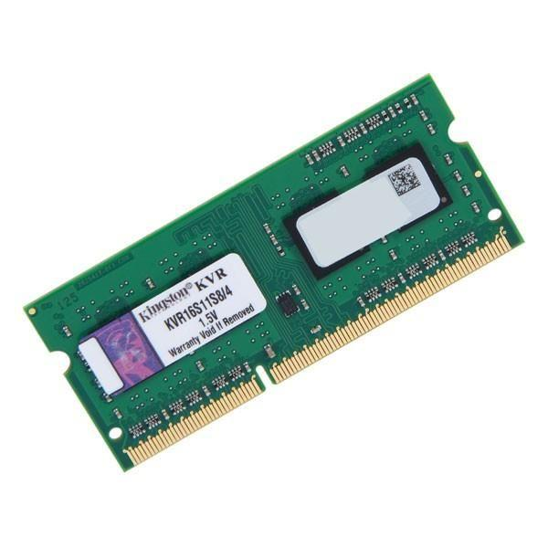 NOTE DDR3 4GB PC3-12800/1600 Kingston, uus, garantii 5 aastat