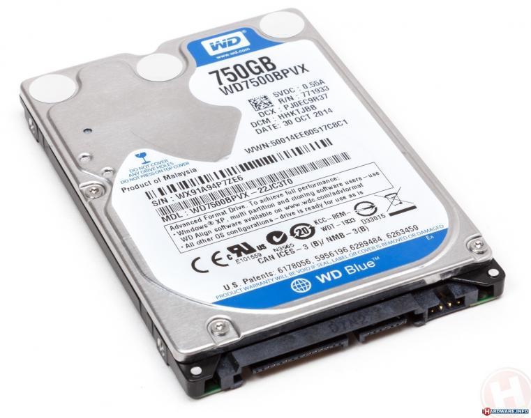"""HDD 2,5"""" SATA 750GB 5400RPM Samsung, kasutatud, garantii 1 aasta"""