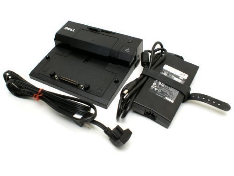 Dock Dell Latitude E-seeriale PR02X + 130W laadija, kasutatud, garantii 1 aasta