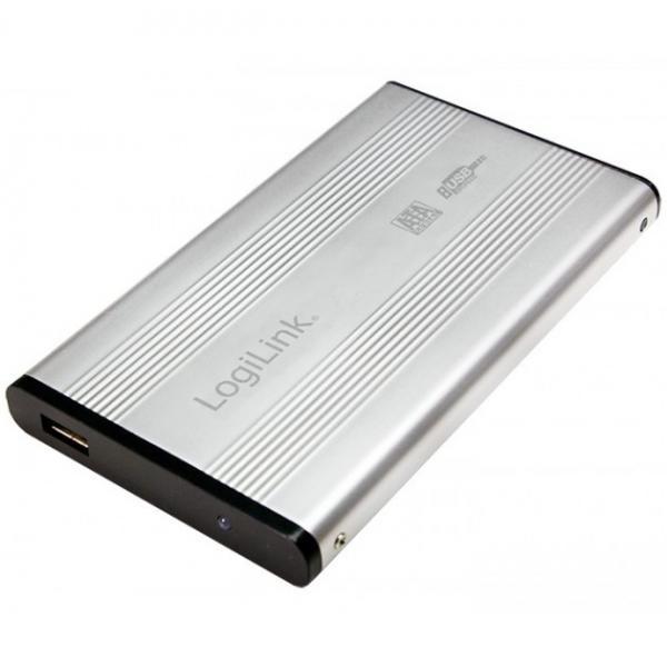 """Välise kõvaketta korpus IDE 2,5"""" USB 2.0 Logilink, uus, garantii 2 aasta"""