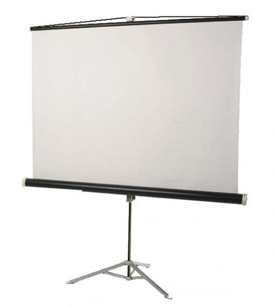 Projektori ekraani rent 1 päev (laius 1,6-1,8m, kolmjalal)