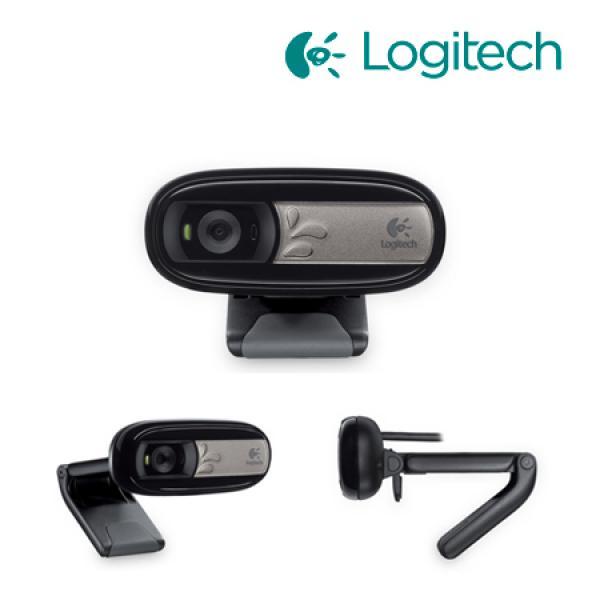 Veebikaamera Logitech c170, 720p HD video (1280x720), 5 MP kaamera, mikrofoniga, uus, garantii 2 aastat