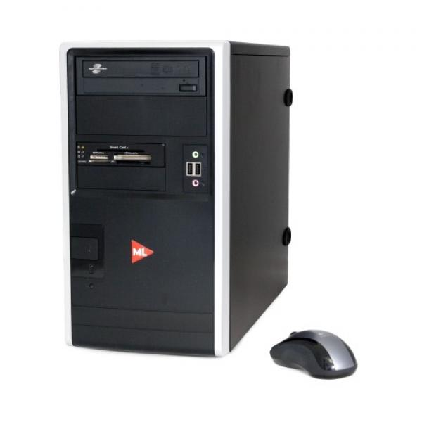 ML 550 vPro Minitower i5-2400S/4GB RAM/250GB HDD/DVD-RW/ID-kaardilugeja esipaneelil/Windows 7 Professional, garantii 1 aasta