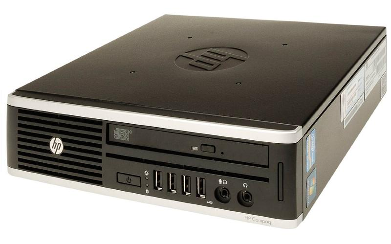 HP Compaq 8000 USFF Core2Duo E8400@3,0GHz/4GB RAM/160GB HDD/DVD-RW/Windows 7 Professional, garantii 1 aasta