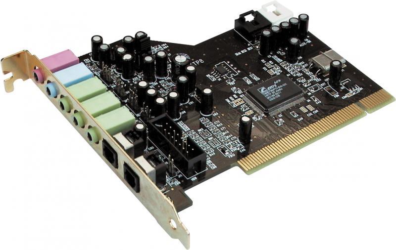 Helikaart Aureon 5.1 PCI, digitaalsisend & -väljund, kasutatud, garantii 6 kuud
