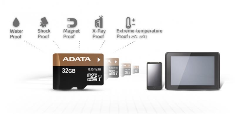 SD Micro 32GB mälukaart, A-data, UHS-I, Class10, uus, tavamõõdus adapter kaasas, garantii 3 aastat