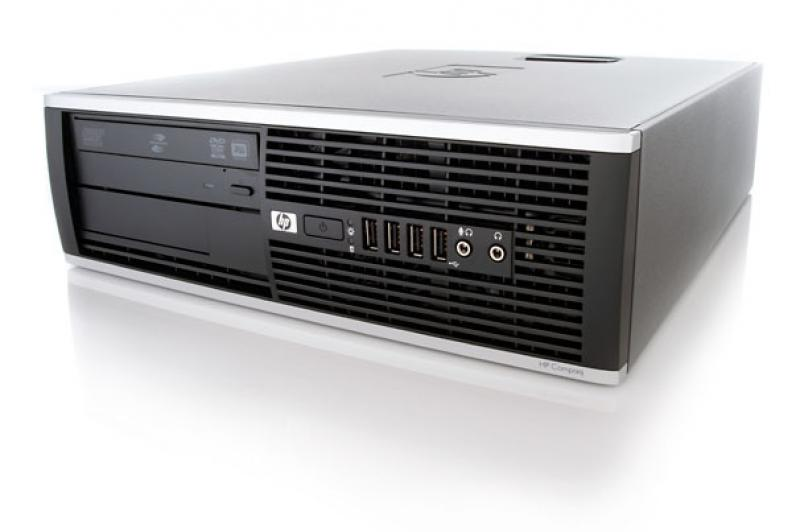 HP Compaq 6200 SFF i3-2100@3,1GHz/4GB RAM/500GB HDD/DVD-RW/Windows 7 Professional, garantii 1 aasta