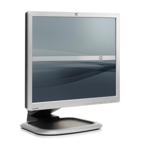 """19"""" LCD HP L1951g koos HP USFF lauaarvuti kinnitusklambriga, 1280x1024, DVI- & VGA-sisend, reguleeritava kõrgusega jalg, garantii 1 aasta"""