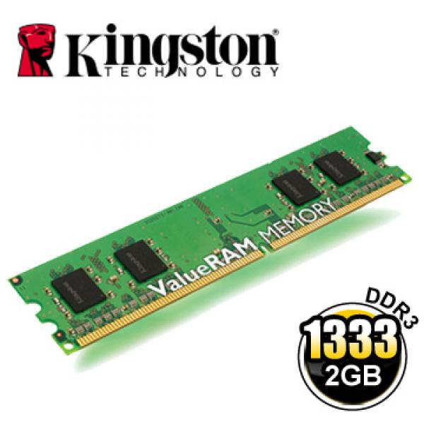 DDR3 2GB PC3-10600/1333 uus, Kingston, garantii 5.a