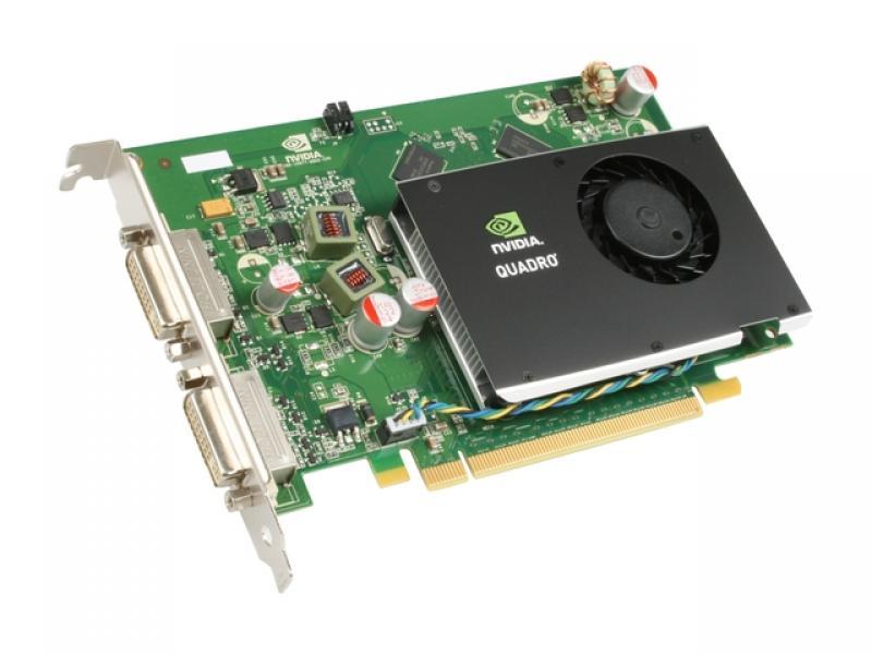 Videokaart nVidia Quadro FX 380 1GB 128-bit, PCI-Express, aktiivjahutusega, 2 X DVI-väljund, kasutatud, garantii 6 kuud