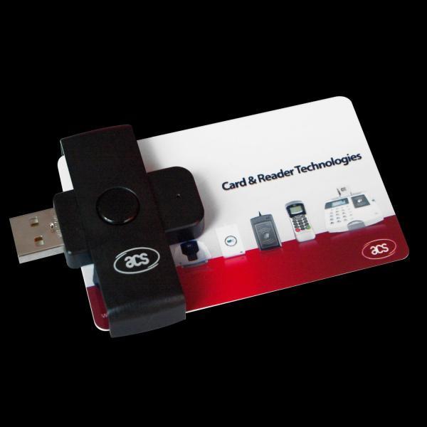 Kompaktne USB ID-kaardi lugeja ACS ACR38U-N1, uus, garantii 2 aastat