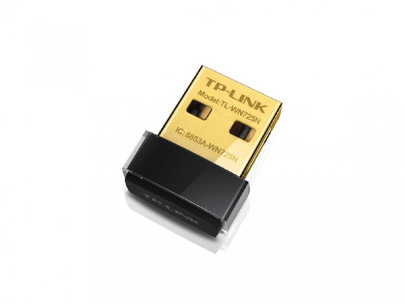 WIFI USB TP-Link TL-WN725N N150 nano, uus, garantii 2 aastat