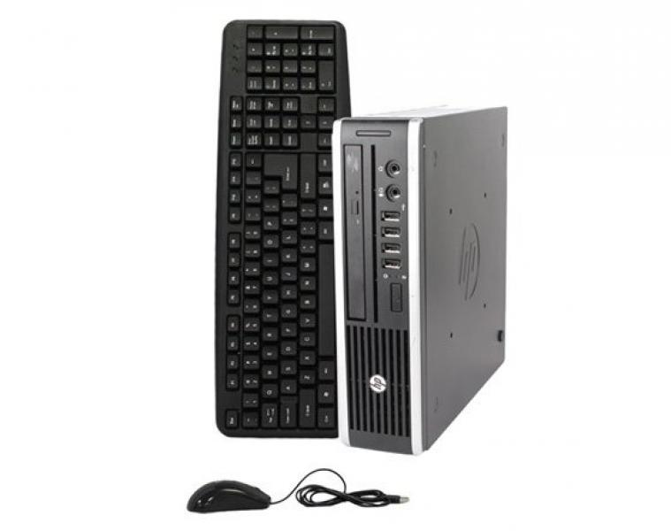 HP Compaq 8200 Pro USDT Intel G840@2,8GHz/4GB RAM/160GB HDD/DVD-R/Windows 7 Professional, garantii 1 aasta