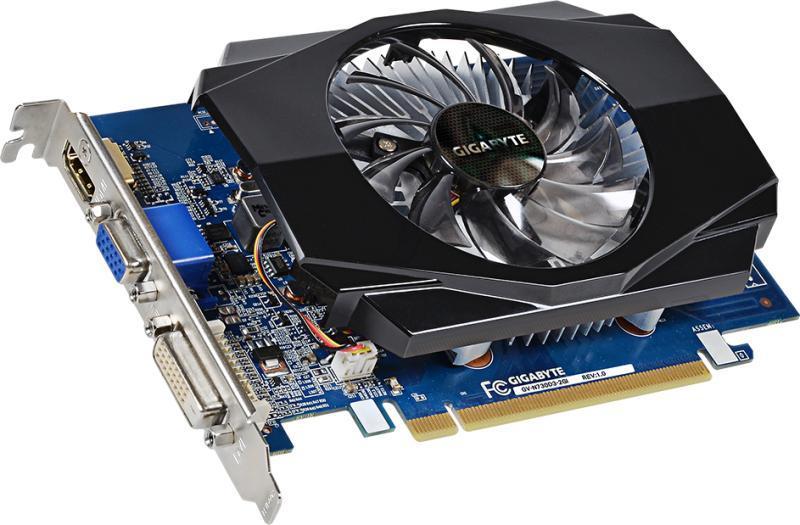 Gigabyte GT 730 2GB DDR3 128Bit, HDMI-, VGA- DVI-väljundid, uus, garantii 3 aastat