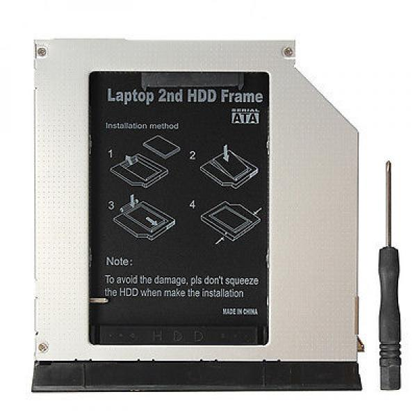 Kõvakettasahtel optilise seadme pessa Dell Latitude E6420 E6520 E6320 E6430, uus, garantii 1 aasta