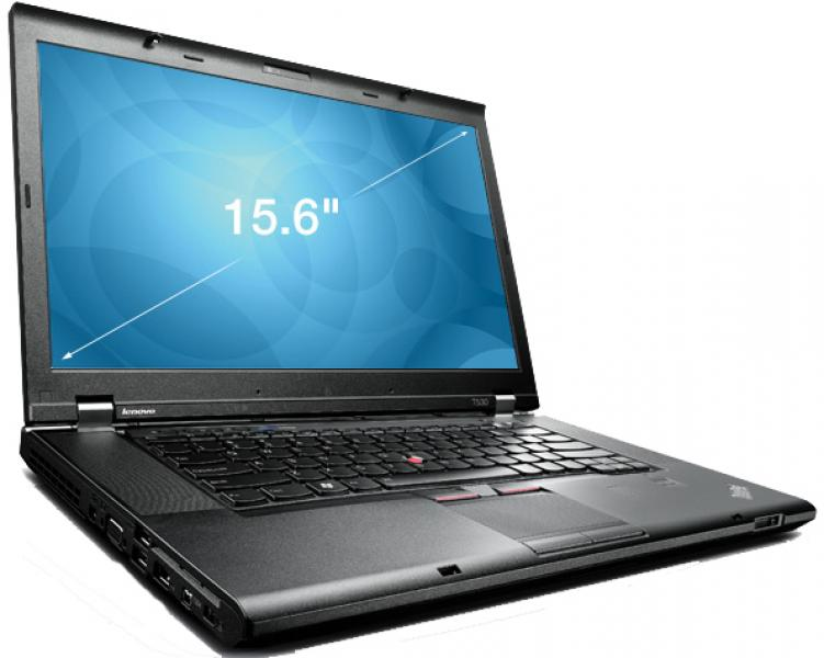 "Lenovo Thinkpad T530 Core i5-3210m/4GB/500GB HDD/15,6"" Wide LED (1366x768)/Veebikaamera/3G/DVD-RW/aku 1h/klaviatuurivalgustus/Windows 7 Pro/garantii 1 aasta"