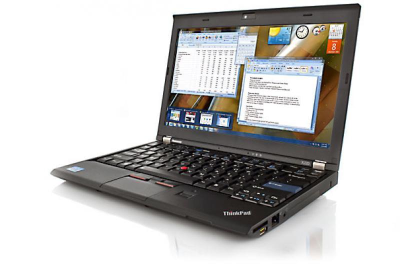 """Lenovo ThinkPad X220 i5-2520M/4GB RAM/120GB SSD (uus, garantii 3 aastat)/12,5"""" LED (1366x768)/veebikaamera/aku tööaeg vähemalt 1h/Windows 10 Pro, kasutatud, garantii 1 aasta [Soodushind!]"""