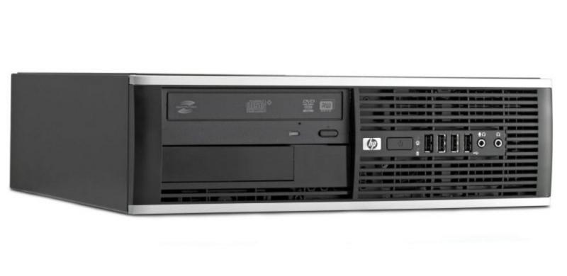 HP Compaq 8300 Pro SFF i5-3470@3,6GHz/4GB RAM/120GB uus SSD (Kingston A400)/DVD-ROM/Windows 7 Professional Citizenship, garantii 2 aastat
