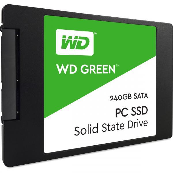 SSD SATA 240GB Western Digital Green, lugemine 545 MB/s, uus, garantii 3 aastat