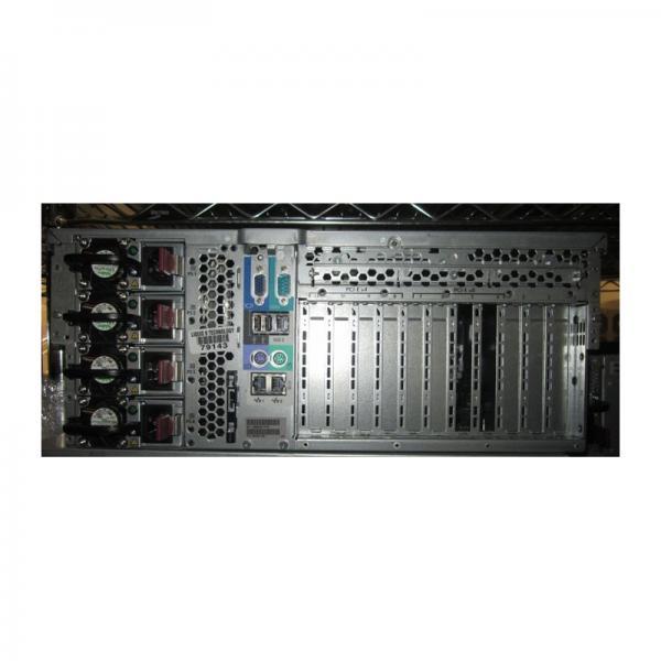 "HP ProLiant DL580 4U rackitav G5 2 x Xeon E7340 @ 2,4GHz/98GB RAM/2 x 72GB 2,5"" HotSwap SAS/DVD/4 hot-swap toiteplokki/Garantii 1 kuu"