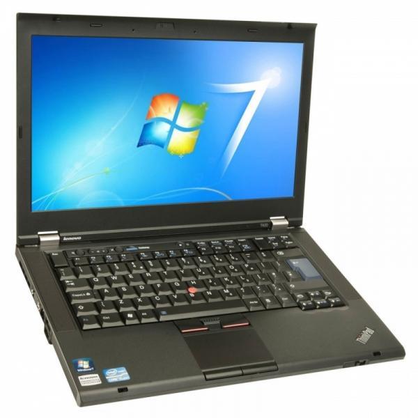 """Lenovo Thinkpad T430 Core i5-3320M/4GB RAM/120GB uus SSD (Kingston UV400, garantii 3 aastat)/14"""" Wide LED (1600x900)/Veebikaamera/DVD-RW/aku tööaeg vähemalt 1h/Windows 7 Pro/garantii 1 aasta"""