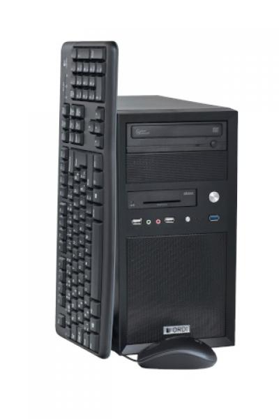 Ordi Minitower i3-2100 @ 3,1GHz/4GB RAM/500GB HDD/DVD-RW/ID-kaardilugeja esipaneelil/Windows 7 Professional/Windows 10 upgrade tehtud, garantii 1 aasta