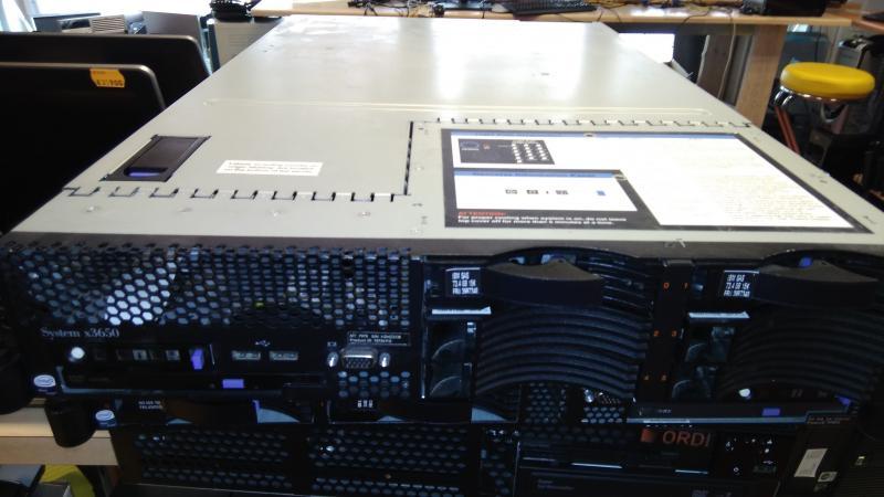 IBM X3650/CPU: 8x Intel(R) Xeon(R) CPU E5335 @ 2.00GHz/8GB Ram/Ketasteta/Operatsioonisüsteemita/Garantii 1 kuu/