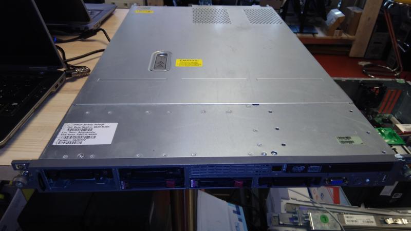 HP DL360 G5/CPU: 4x Intel(R) Xeon(R) CPU E5345 @ 2.33GHz /Ram 4Gb/Ketasteta/Operatsioonisüsteemita/Garantii 1 kuu/