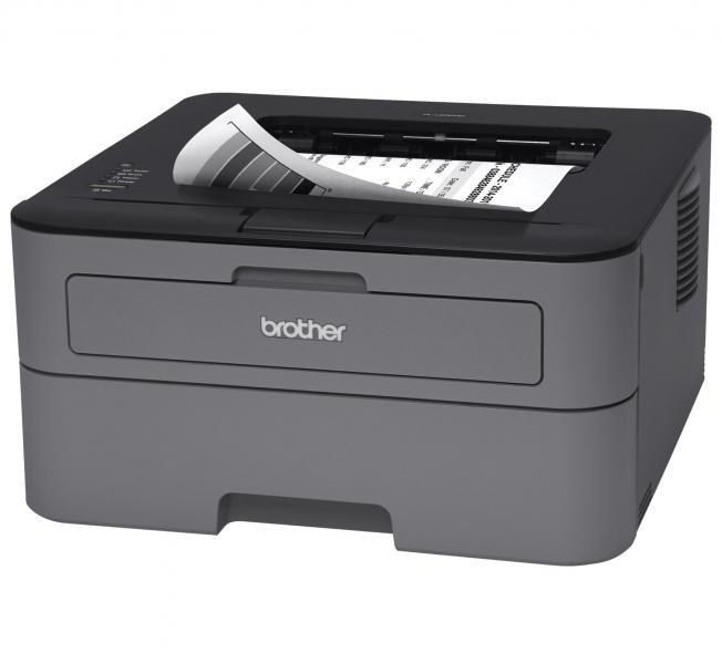 Mustvalge laserprinter Brother HL-L2300D, 26 lk/min, 2400x600 dpi, duplex (kahepoolne trükk), usb-liides, uus tooner, uus demotoode, garantii 1 aasta [kampaania]