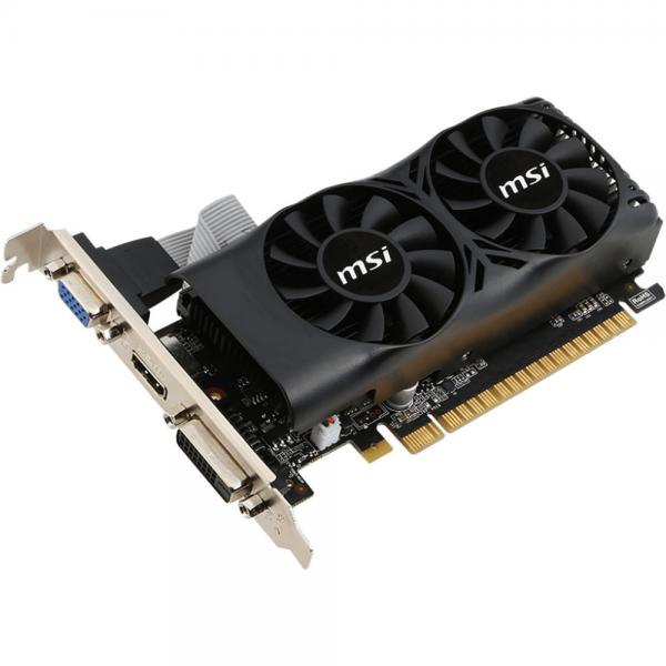 Videokaart MSI GeForce GTX 750Ti PCI-E, 2GB DDR5, 128-bit, HDMI, VGA, DVI, Low-profile (sobib ka madala korpusega desktop-arvutitesse), garantii 2 aastat