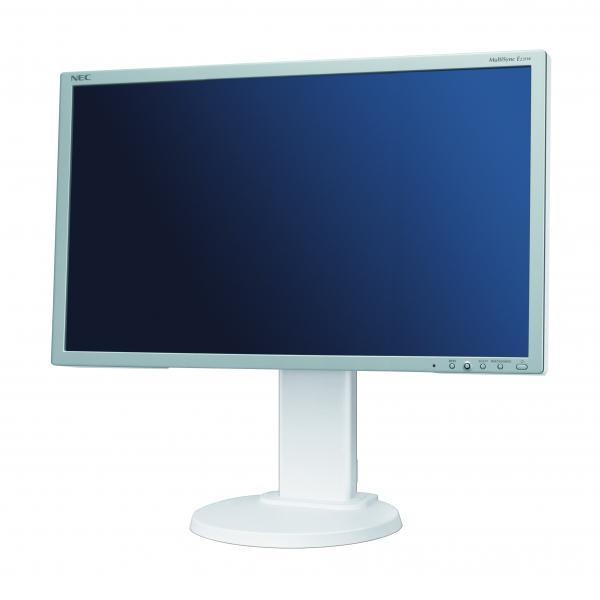 """23"""" WIDE LED NEC MultiSync E231W, VGA- & DVI-sisend, 5 ms, Full HD resolutsioon 1920 x 1080, musta värvi reguleeritava kõrgusega jalg, garantii 1 aasta"""