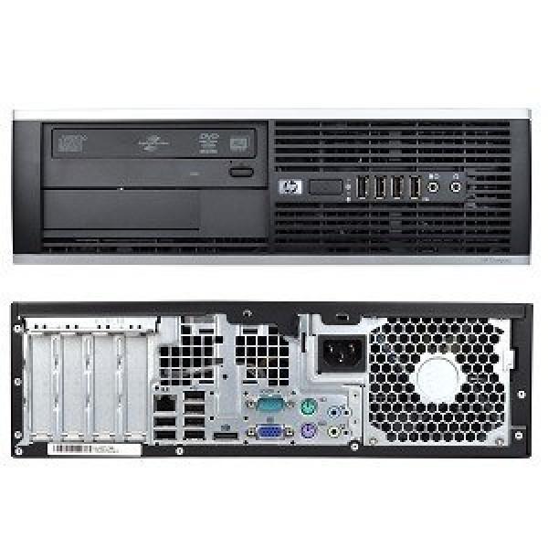 HP Compaq 6200 Pro SFF Intel i3-2100@3,1GHz/4GB RAM/120GB uus SSD (garantii 3 aastat)/DVD-RW/Windows 10 Professional, kasutatud, garantii 1 aasta [Soodushind!]