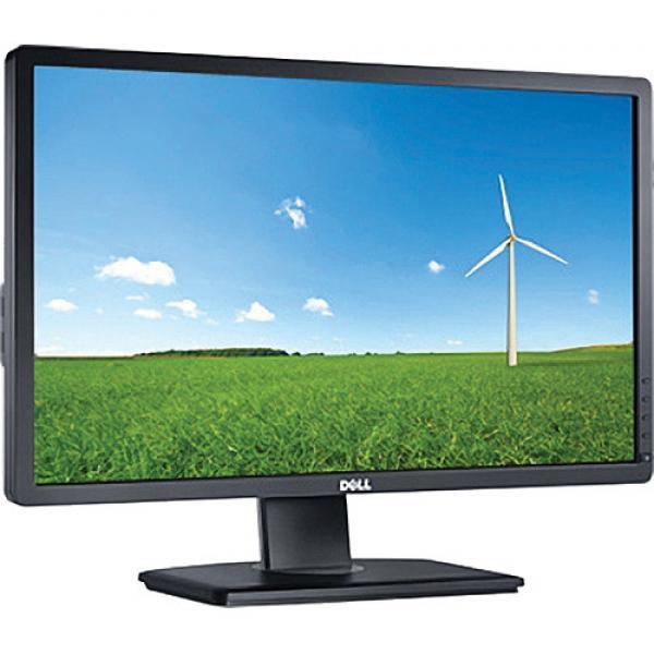 """24"""" Wide LED Dell Professional P2412Hb, resolutsioon 1920x1080, 5ms, DVI- & VGA-sisend, USB-HUB, reguleeritava kõrgusega jalg, PIVOT-funktsioon, garantii 1 aasta [ekraanil 1 minimaalne cm pikkune kriim]"""