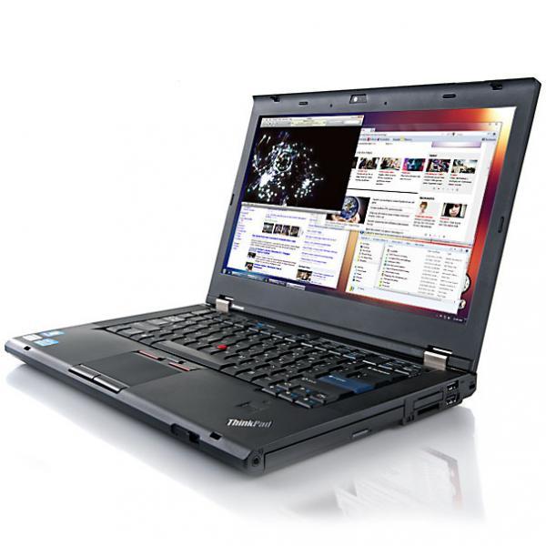 """Lenovo ThinkPad T420 i5-2520M@2,5GHz/4GB RAM/120GB uus SSD (garantii 3 aastat)/14,1"""" HD LED (1366x768)/Intel HD3000 graafikakaart/ID-kaardilugeja/DVD-RW/eesti klaviatuur/aku tööaeg ~1.5h/Windows 10 Pro, kasutatud, garantii 1 aasta"""