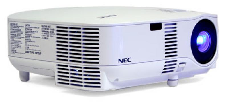 Projektor NEC VT800,värvigamma segamini ja pildi äärtes värvitriibud,  HDMI, 2 xVGA, uus lamp, garantii 1 kuu (ei laiene lambile)