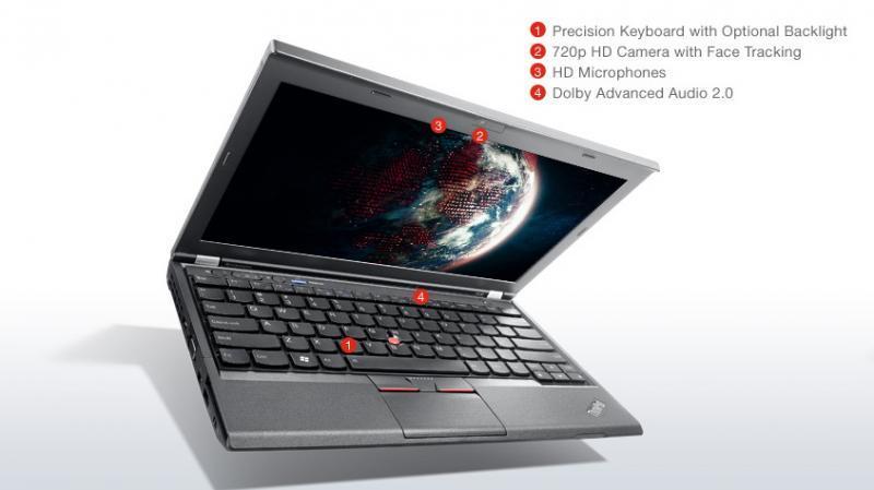 "Lenovo ThinkPad X230 i5-3320M@2.6Ghz/4GB RAM/120GB uus SSD (gar 3a)/12,5"" HD LED (1366x768)/2x USB 3.0/veebikaamera/SWE klaviatuur/aku tööaeg ~2h/Windows 10 Professional, kasutatud, garantii 1 aasta"
