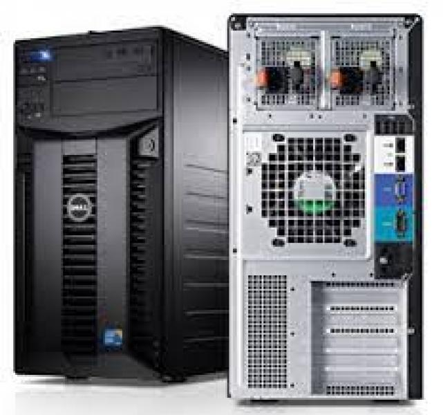 Dell PowerEdge T410 / Service Tag: 799MK4J / Xeon E5504/8GB DDR3 ECC/4x147GB & 2x2TB SAS HDD/DVD/Windows 2008 SBS Server/garantii 1 kuu