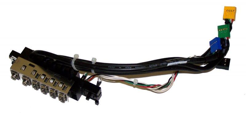 HP SFF 6000 8000 6200 6300 8100 8200 8300 USB IO esipaneelile voolulülitiga, kasutatud, garantii 1 kuu