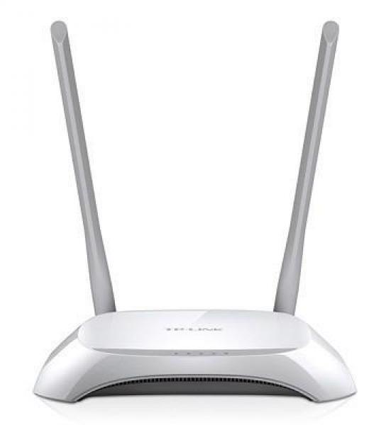 Wifi-ruuter TP-LINK TL-WR840N, 4 port 10/100Mbps HUB, 300Mbps, uus, garantii 2 aastat