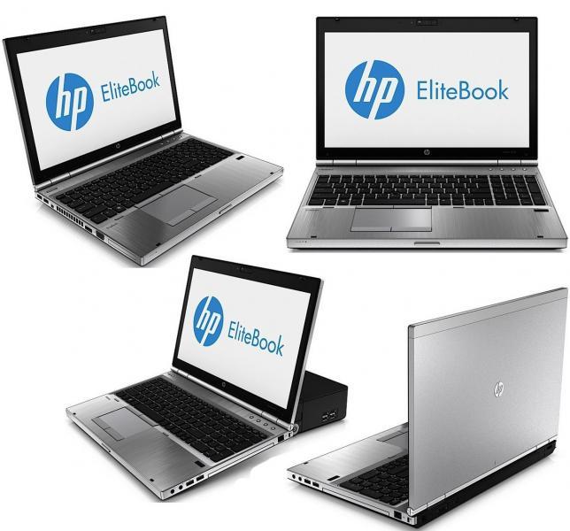 """HP EliteBook 8570p i5-3320M/8GB RAM/UUS WD GREEN 240GB SSD/15,6"""" LED FHD (1920x1080)/veebikaamera/ID-kaardilugeja/DVD-RW/aku tööaeg vähemalt 1h/Windows 10 Professional, garantii 1 aasta"""