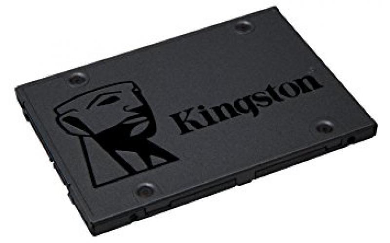 SSD SATA 120GB Kingston A400, lugemine 500 MB/s, kirjutamine 320 MB/s, uus, garantii 3 aastat