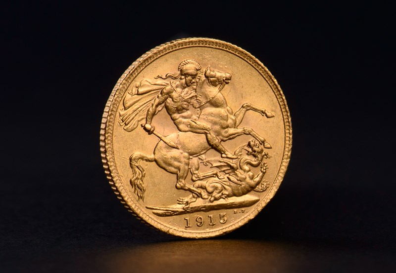 Great Britain Gold Sovereigns George V