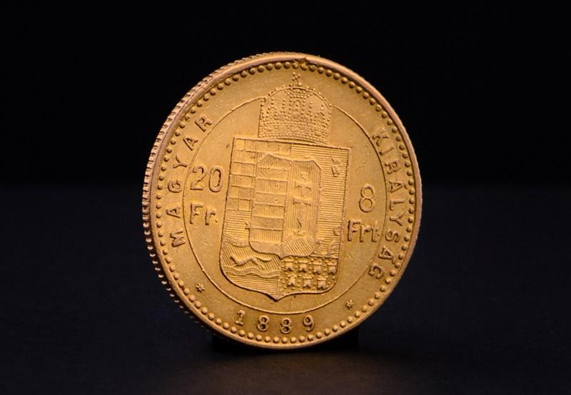 Hungarian 20 Franc 8 Forint