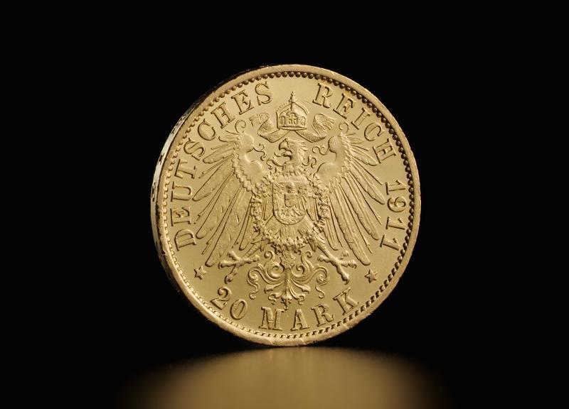 Tysk 20 Mark Wilhelm II