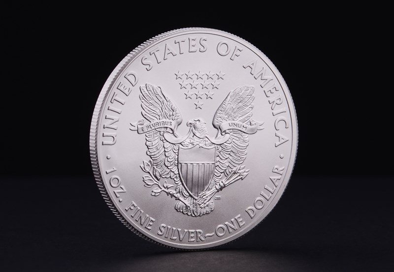 1 oz American Eagle Sølvmønt