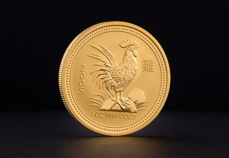 2005 1 oz Australisk Guld Lunar – Tuppens År