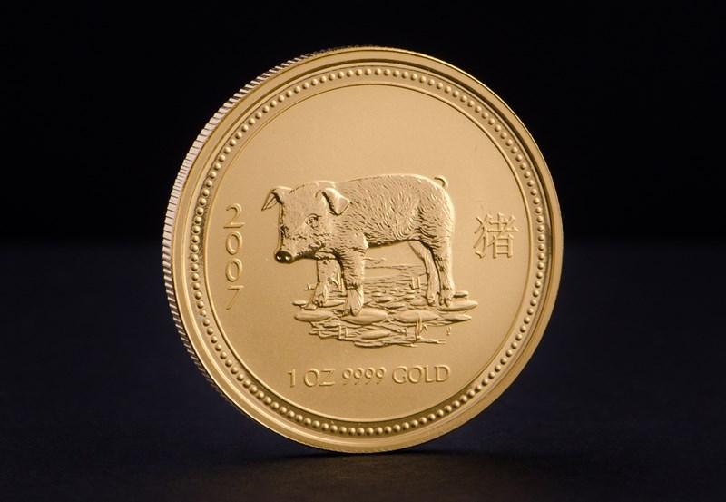 Australian Lunar I 2007 – Pig 1 oz