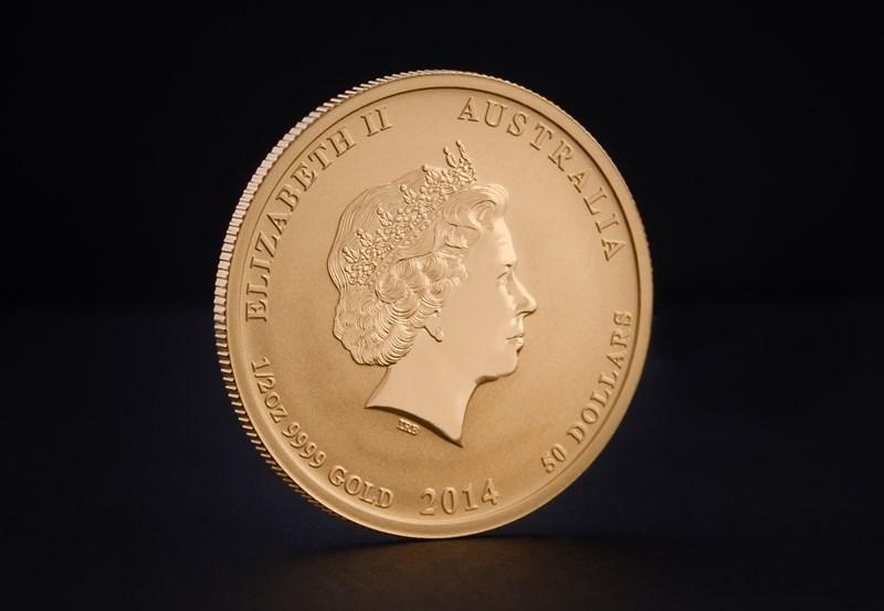 2014 Australian Gold Lunar Year of the Horse