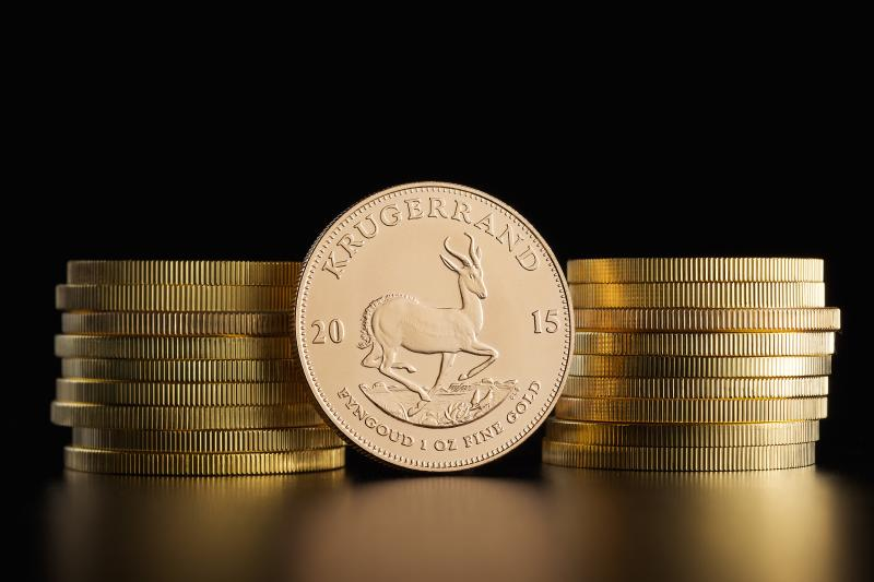 1 oz South African Krugerrands