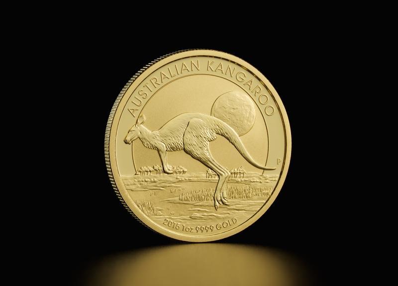 1 oz Australian Gold Kangaroos